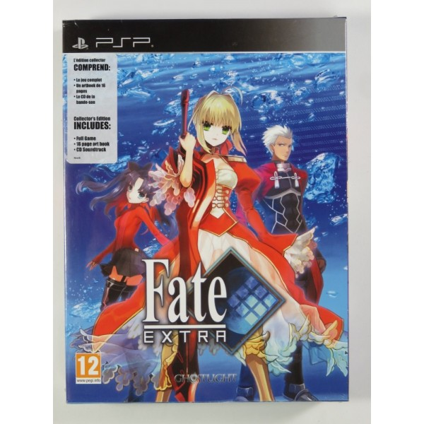FATE EXTRA COLLECTOR S EDITION PSP EURO NEW