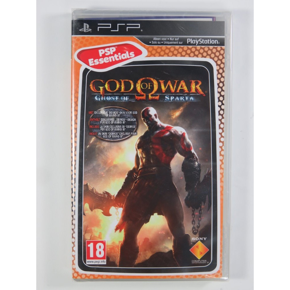 GOD OF WAR GHOST OF SPARTA PSP ESSENTIALS EURO NEW