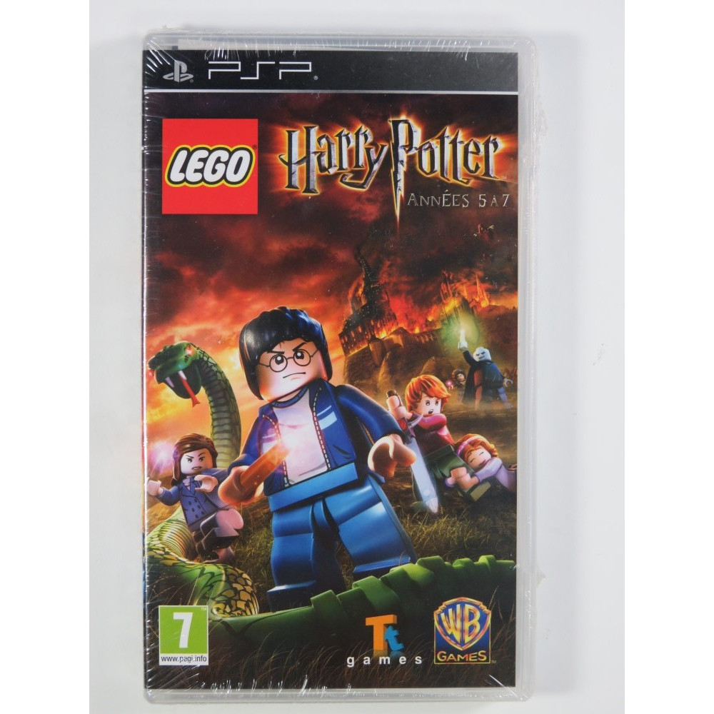 LEGO HARRY POTTER ANNEES 5 A 7 PSP FR NEW