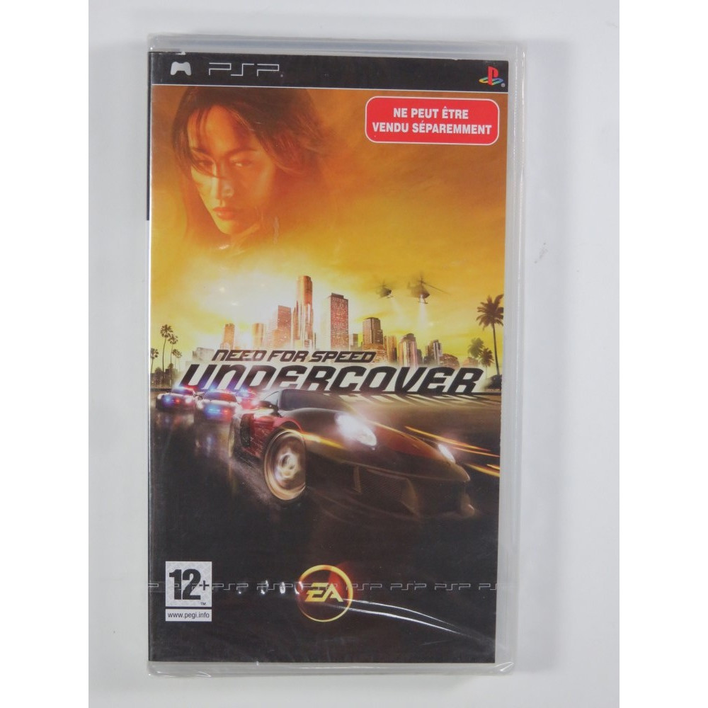 NEED FOR SPEED UNDERCOVER BUNDLE COPY PSP FR NEW