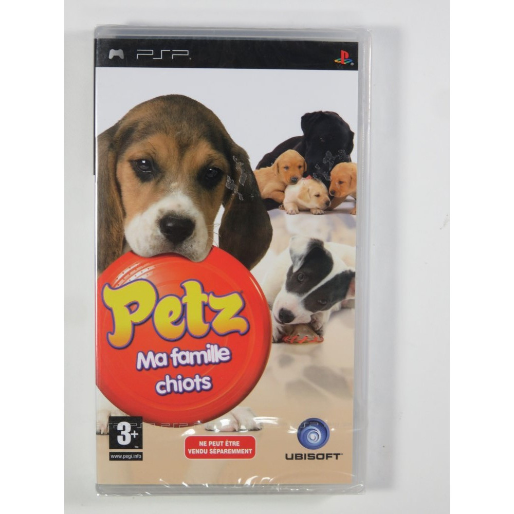 PETZ MA FAMILLE CHIOTS BUNDLE COPY PSP FR NEW