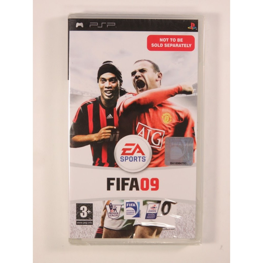 FIFA 09 NOT TO BE SOLD SEPARATELY PSP UK NEW
