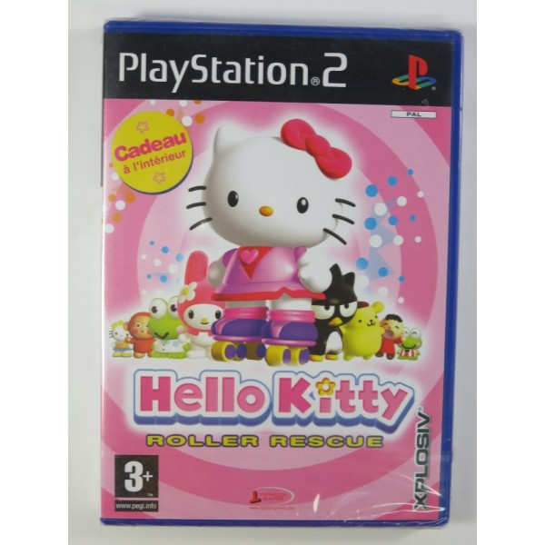 HELLO KITTY - ROLLER RESCUE PS2 PAL-FR NEW