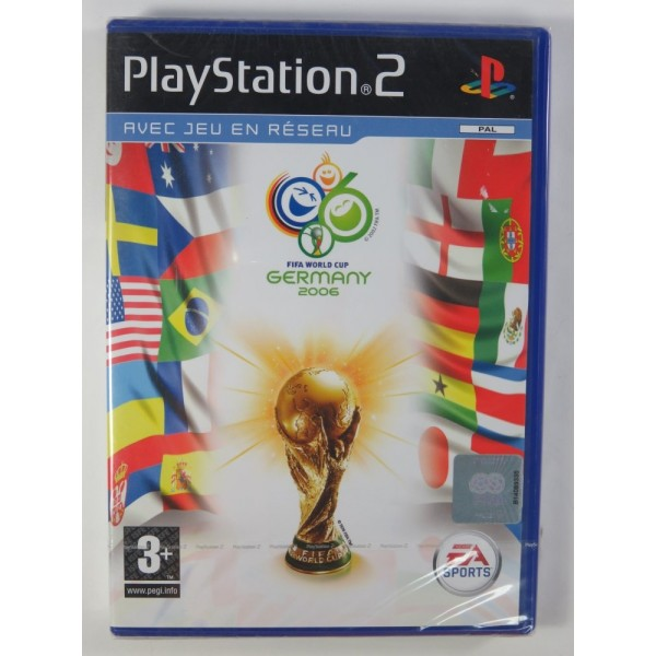 FIFA 2006 WORLD CUP GERMANY PS2 PAL-FR NEW