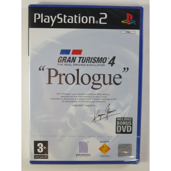 GRAN TURISMO 4 PROLOGUE PS2 PAL-EURO NEW