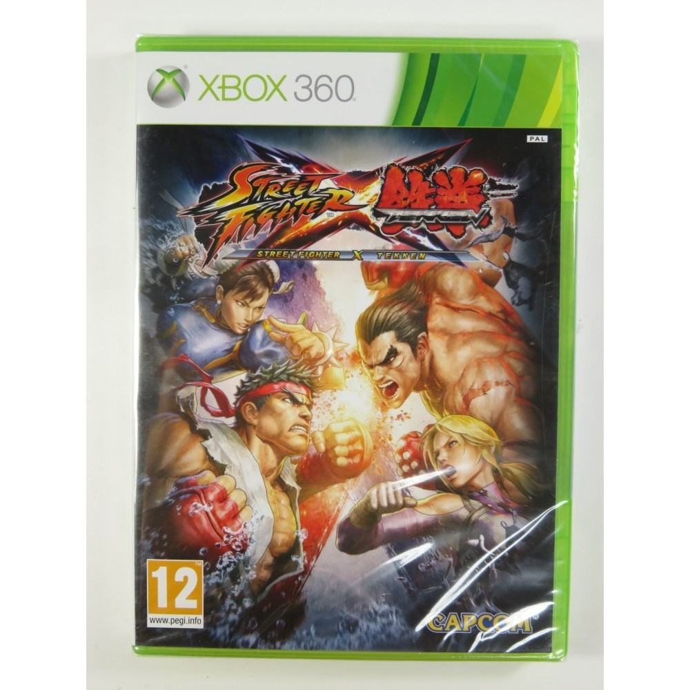 STREET FIGHTER VS TEKKEN X360 PAL-FR NEW