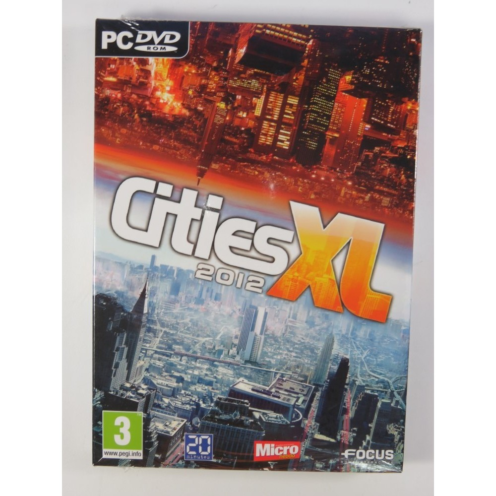 CITIES XL 2012 PC FR NEW