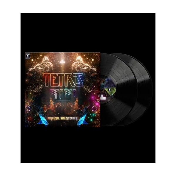 VINYLE TETRIS EFFECT ORIGINAL SOUNDTRACK LIMITED RUN NEW