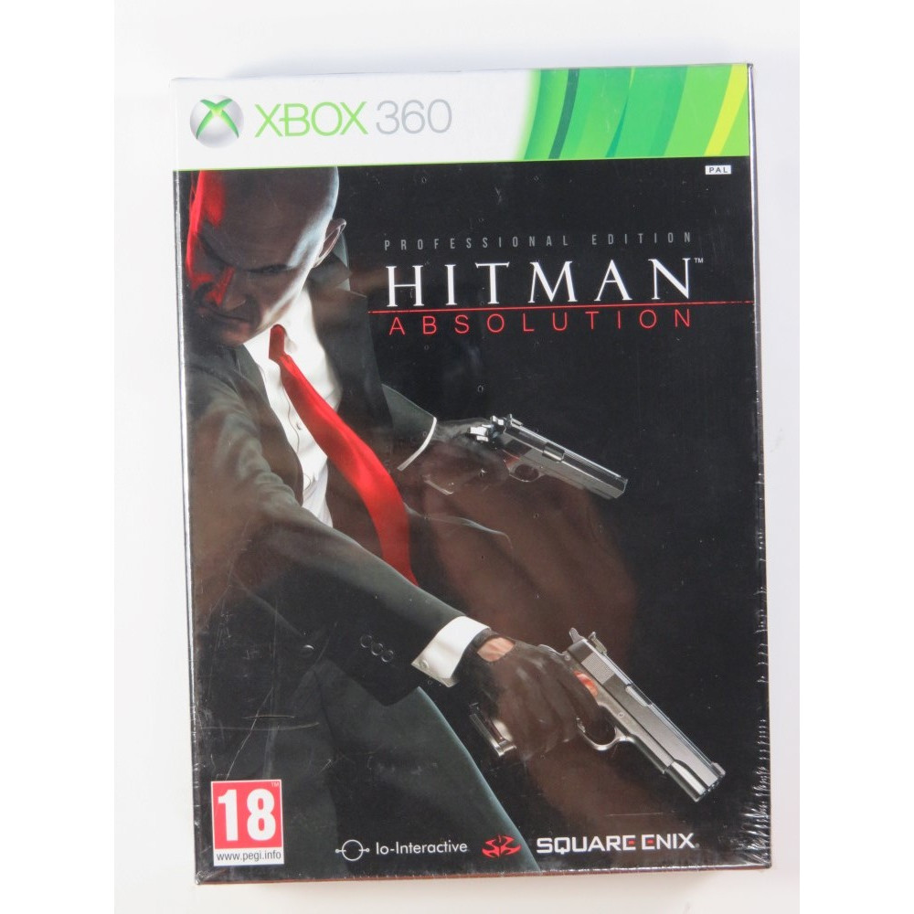 HITMAN ABSOLUTION PROFESSIONAL EDITION X360 PAL-FR NEW