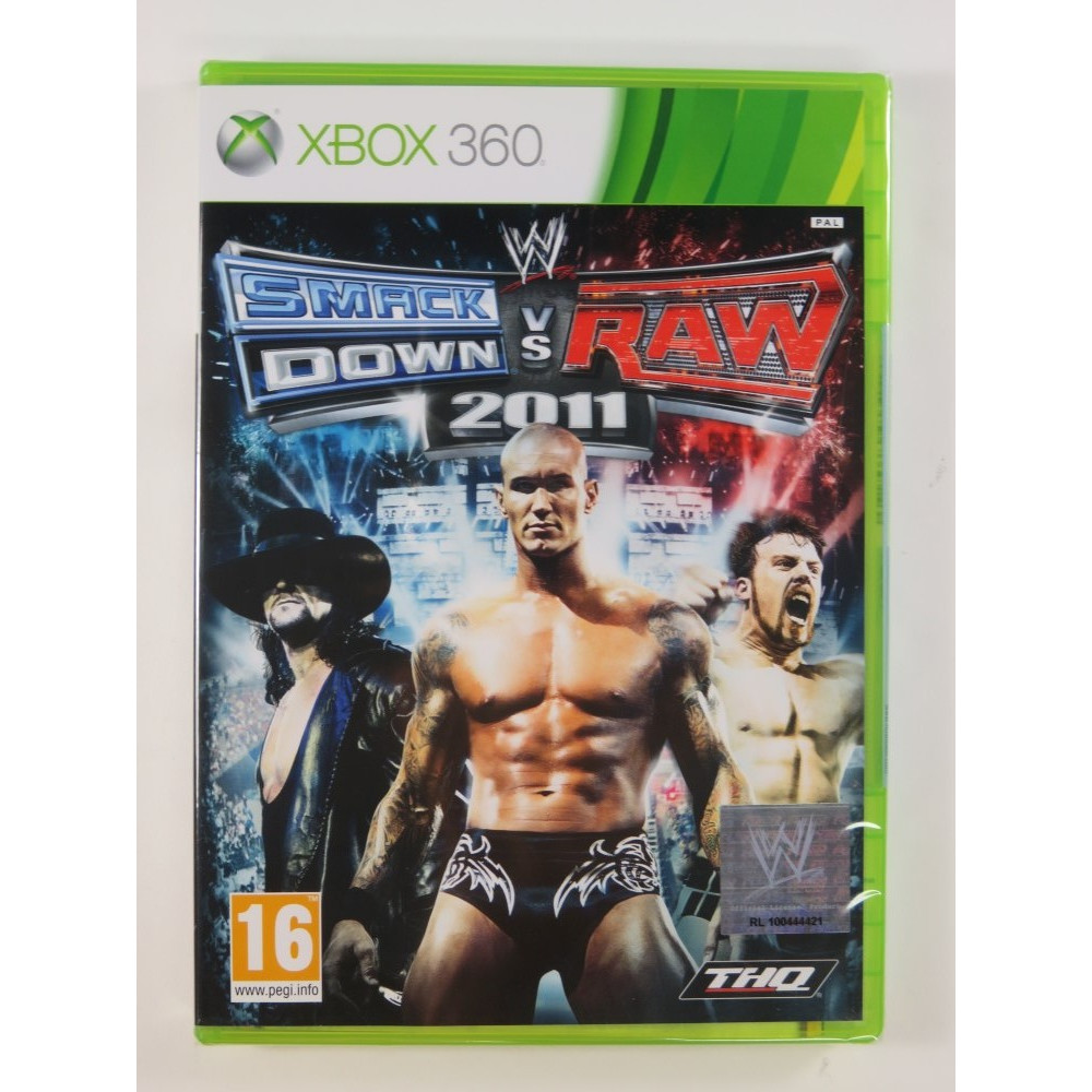 W SMACKDOWN VS RAW 2011 X360 PAL-FR NEW