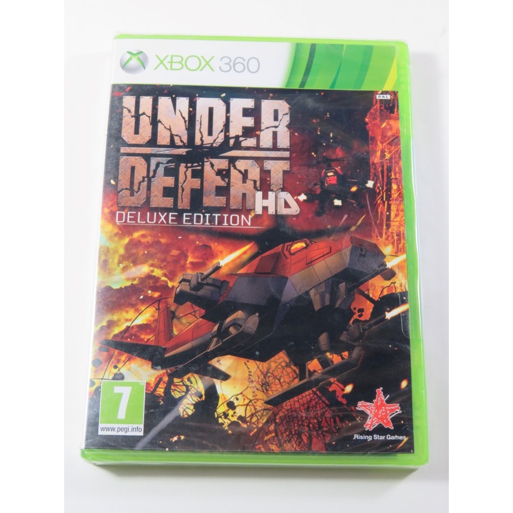 UNDER DEFEAT HD : DELUXE EDITION XBOX 360 PAL-EURO NEW