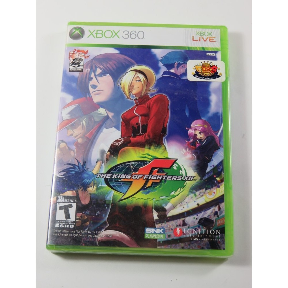 THE KING OF FIGHTERS XII X360 NTSC-USA NEW (REGION FREE)