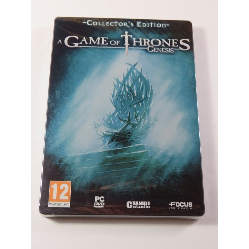 A GAME OF THRONES GENESIS COLLECTOR S EDITION PC FR NEW