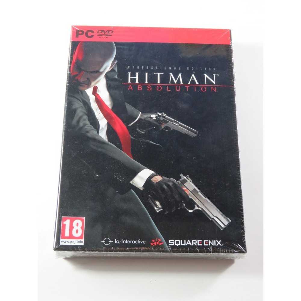 HITMAN ABSOLUTION PROFESSIONAL EDITION PC FR NEW