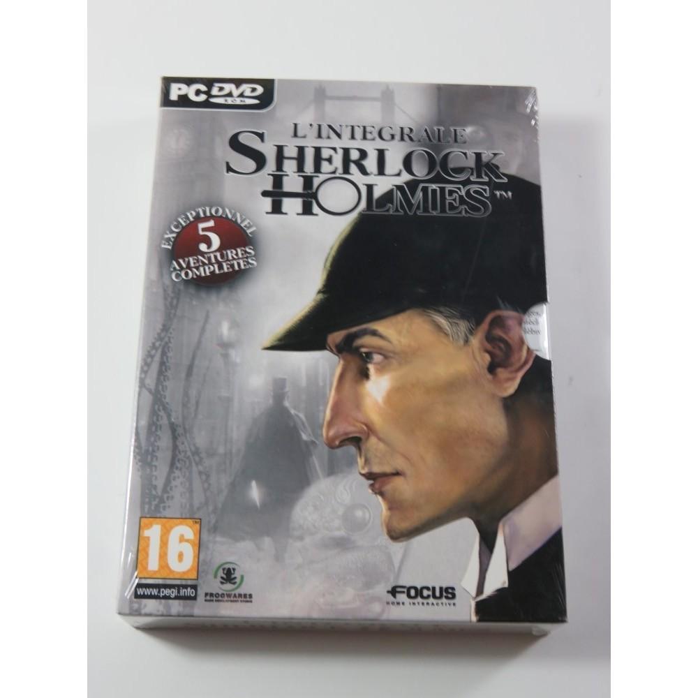 SHERLOCK HOLMES COFFRET INTEGRALE PC FR NEW