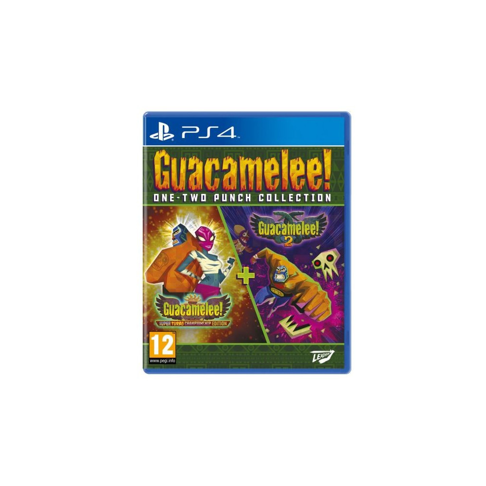 GUACAMELEE! ONE-TWO PUNCH COLLECTION - PS4 FR NEW