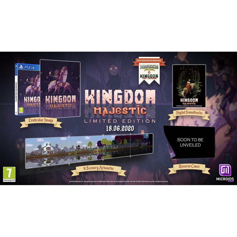 KINGDOM MAJESTIC LIMITED EDITION PS4 FR PREORDER