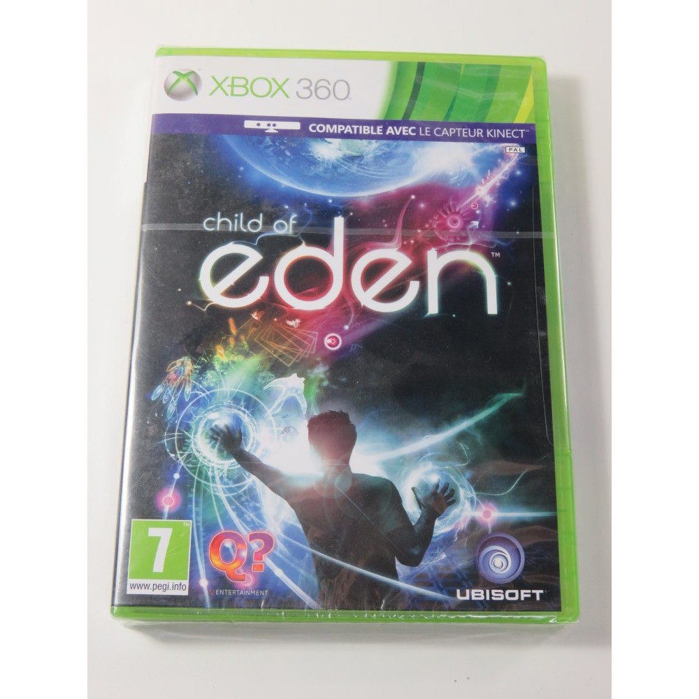 CHILD OF EDEN KINECT X360 PAL-FR NEW