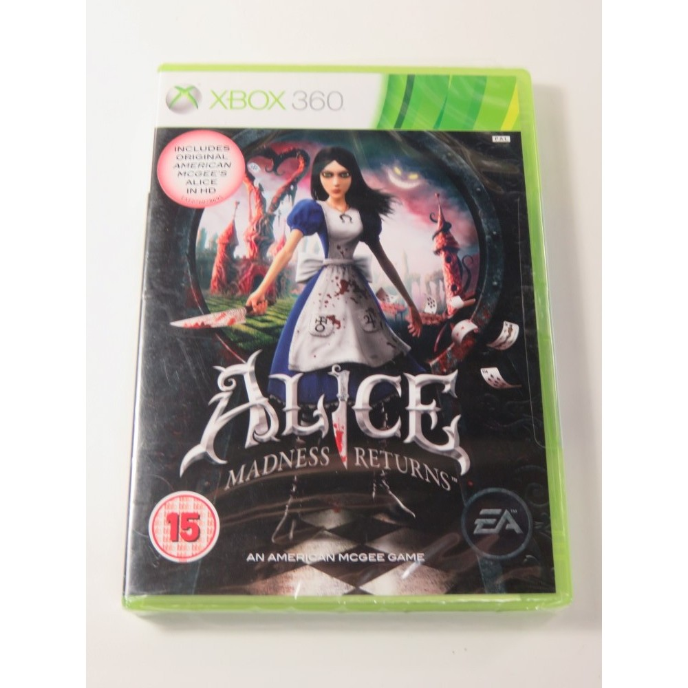 ALICE MADNESS RETURNS X360 PAL-UK NEW