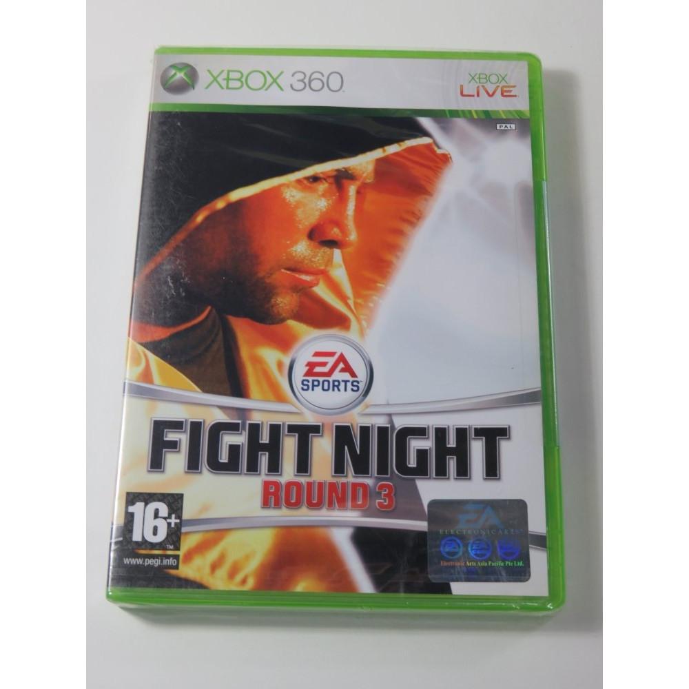 FIGHT NIGHT ROUND 3 X360 PAL-UK NEW