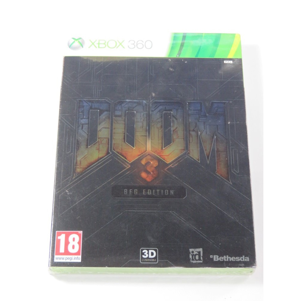 DOOM 3 BGF EDITION X360 PAL-FR NEW