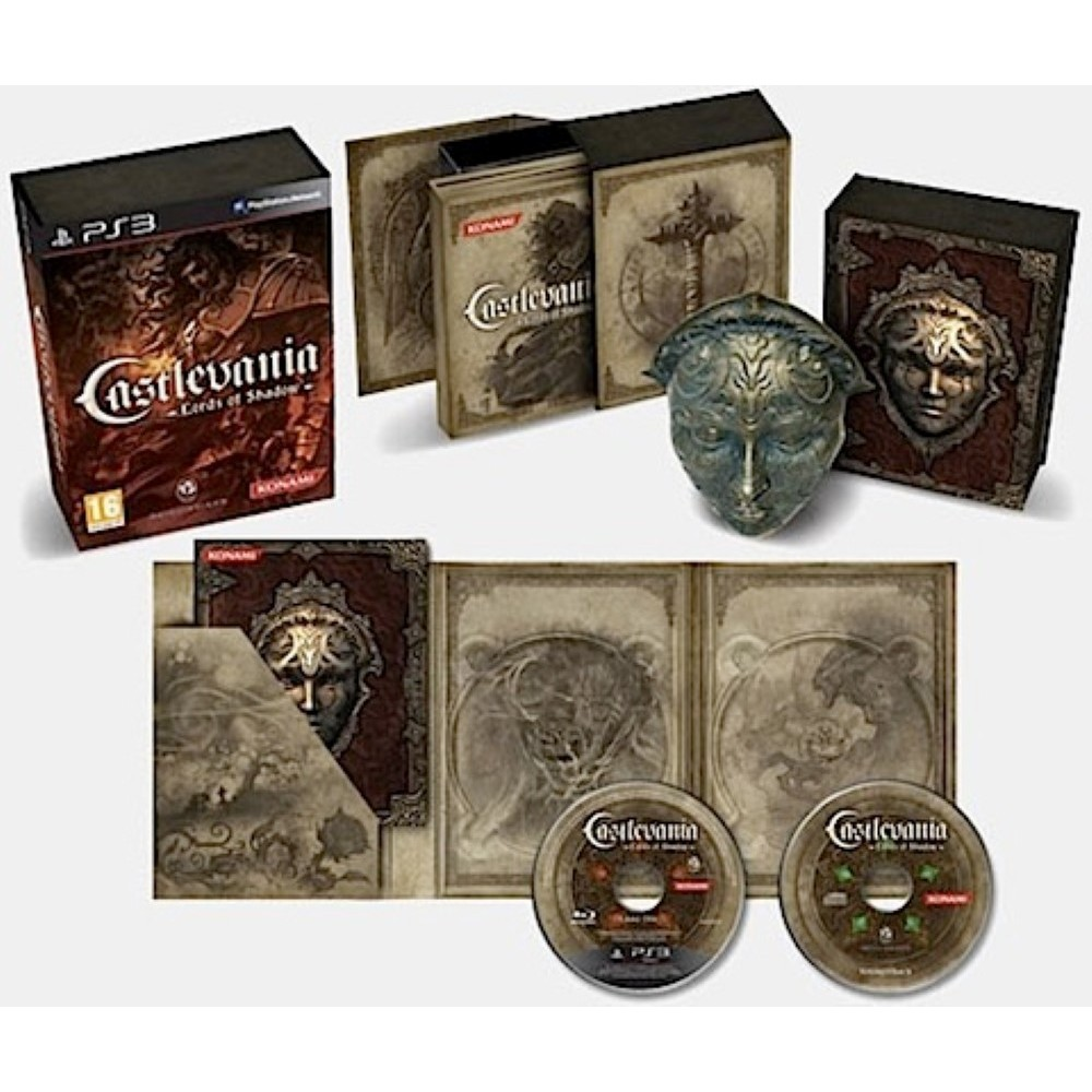 CASTLEVANIA LORDS OF SHADOW LIMITED COLLECTOR'S EDITION PS3 EURO NEW (VERSION ALLEMANDE)