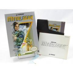 METAL GEAR NES PAL B EEC-FAH (COMPLET)