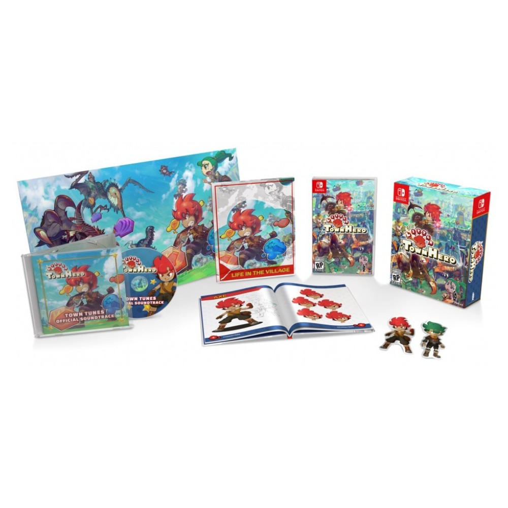 LITTLE TOWN HERO BIG IDEA EDITION SWITCH FR NEW