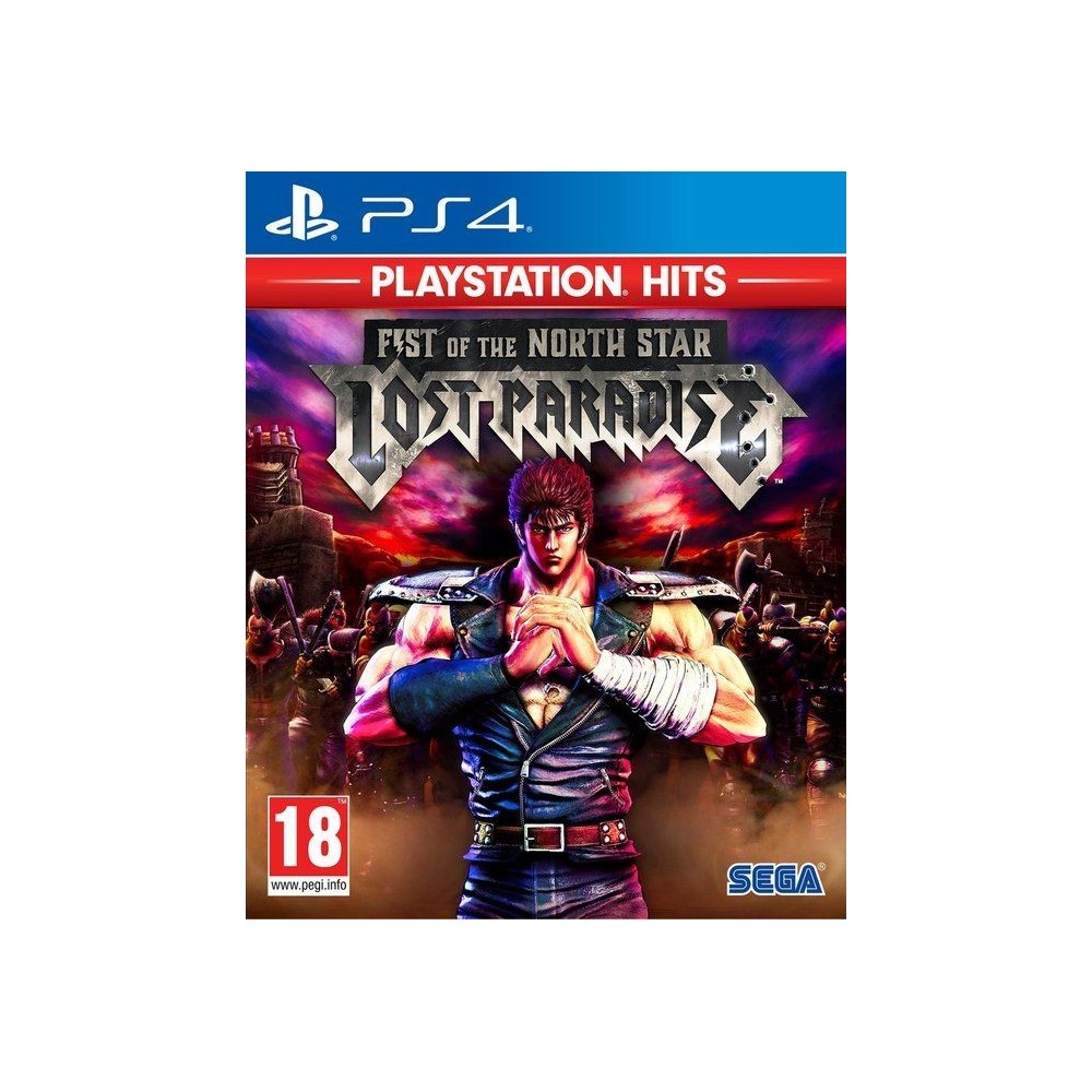 FIST OF THE NORTH STAR LOST PARADISE PLAYSTATION HITS PS4 EURO FR NEW