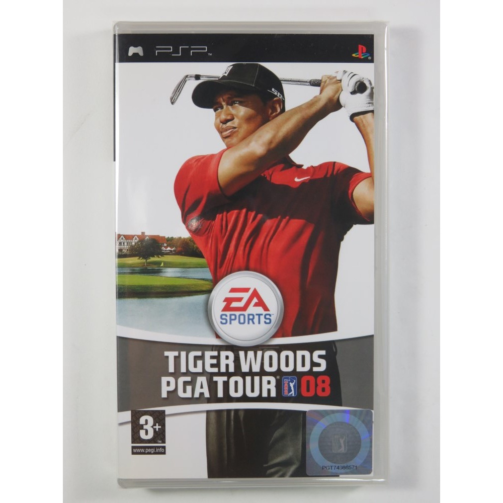 TIGER WOODS PGA TOUR 08 PSP FR NEW