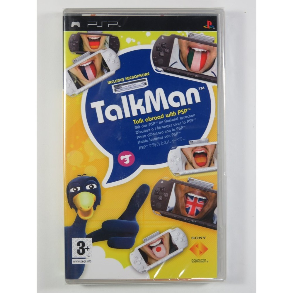 TALKMAN PSP UK NEW