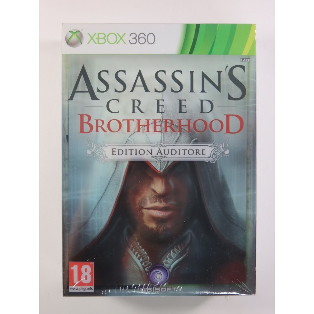 ASSASSIN S CREED BROTHERHOOD EDITION AUDITORE XBOX 360 PAL-FR NEW
