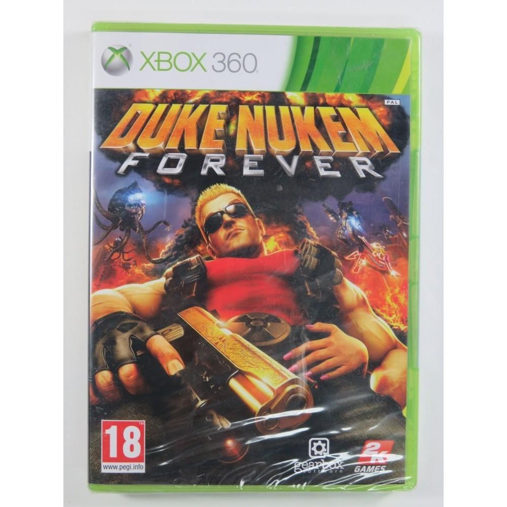DUKE NUKEM FOREVER XBOX 360 PAL-FR NEW