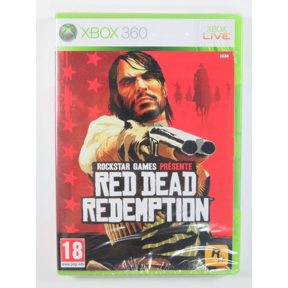 RED DEAD REDEMPTION X360 PAL-FR NEW
