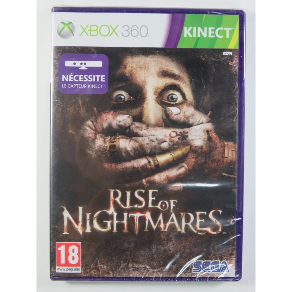 RISE OF NIGHTMARES KINECT X360 PAL-FR NEW