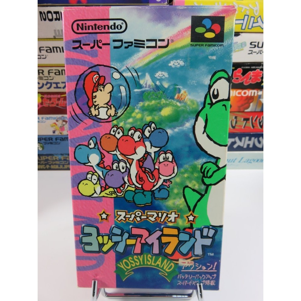 SUPER MARIO WORLD 2: YOSHI S ISLAND SFC NTSC-JPN OCCASION (SANS NOTICE)