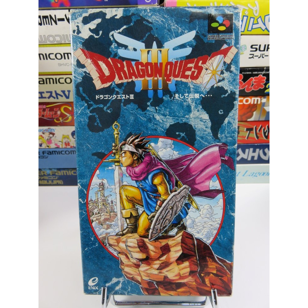 DRAGON QUEST III SFC NTSC JPN OCCASION (ENIX 1996)