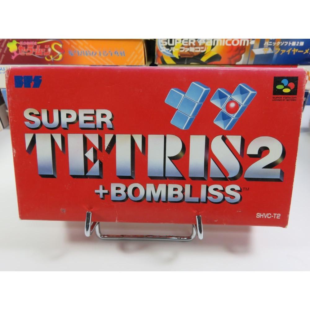SUPER TETRIS 2 + BOMBLISS SFC NTSC-JPN OCCASION (SANS NOTICE)