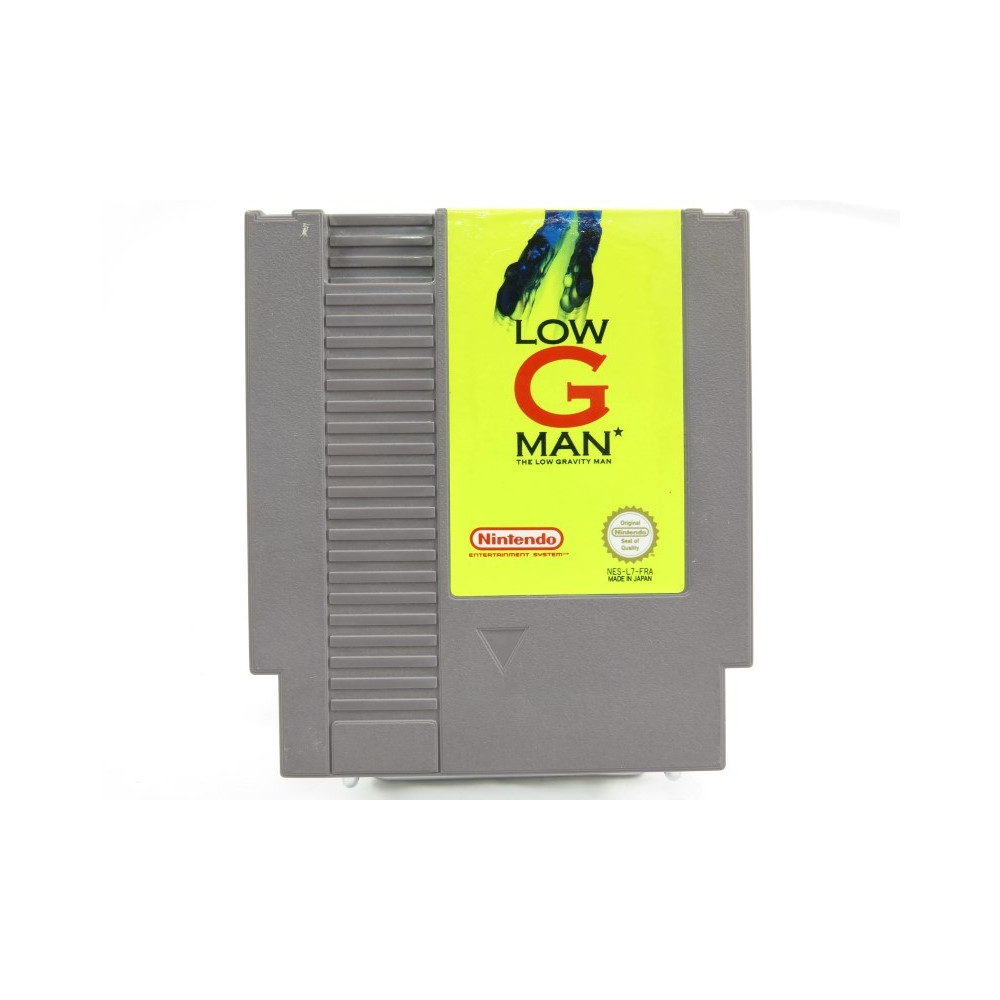 LOW G MAN NINTENDO NES PAL-B FRA (CARTRIDGE ONLY - GOOD CONDITION)