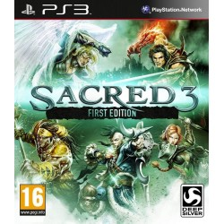 SACRED 3 FIRST EDITION PS3 FR OCCASION