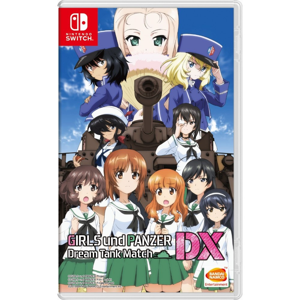 GIRL & PANZER DX SWITCH ASIAN (SOUS TITRE ANGLAIS) OCCASION