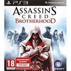 ASSASSINS CREED BROTHERHOOD PS3 FR OCCASION (BUNDLE COPY)
