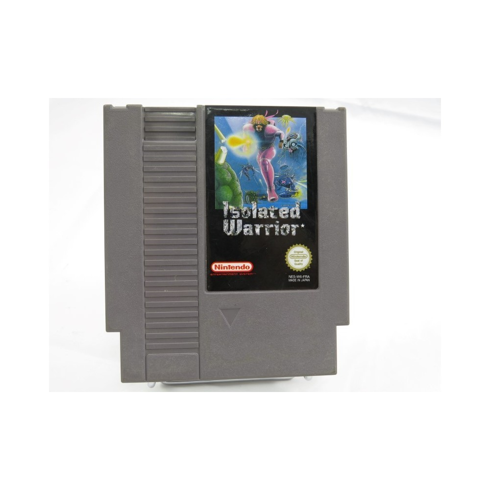 ISOLATED WARRIOR NINTENDO NES PAL-B FRA (CARTRIDGE ONLY - GOOD CONDITION)