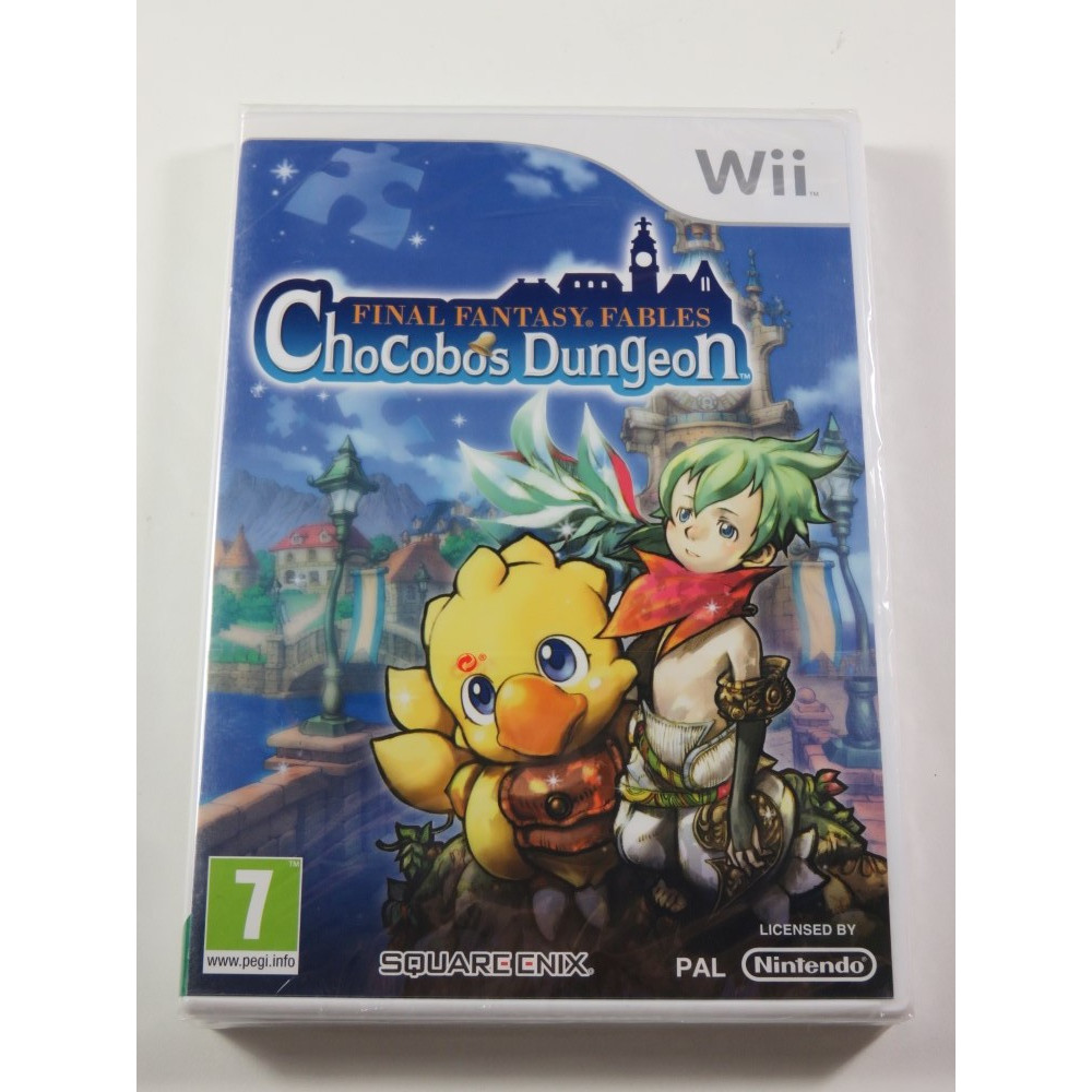 FINAL FANTASY FABLES CHOCOBOS DUNGEON WII PAL-UK NEW