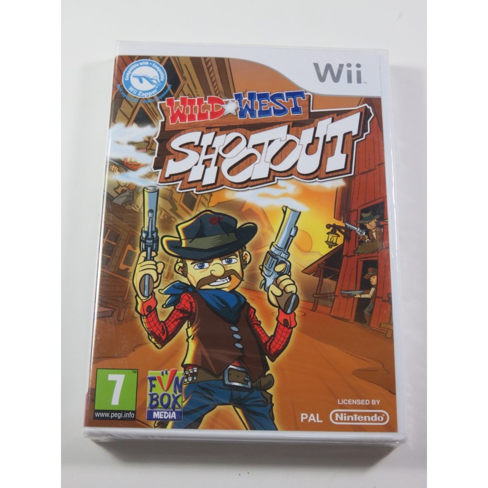 WILD WEST SHOOTOUT WII PAL-EURO NEW