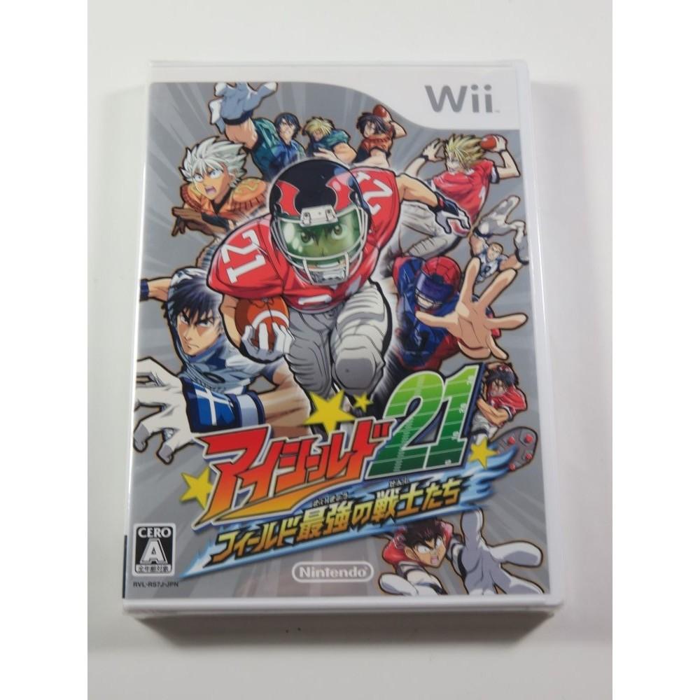 EYESHIELD 21 FIELD NO SAIKYOU SENSHI TACHI WII NTSC-JPN NEW
