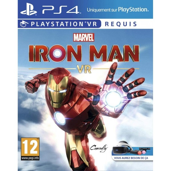 MARVEL'S IRON MAN VR PS4 FR NEW
