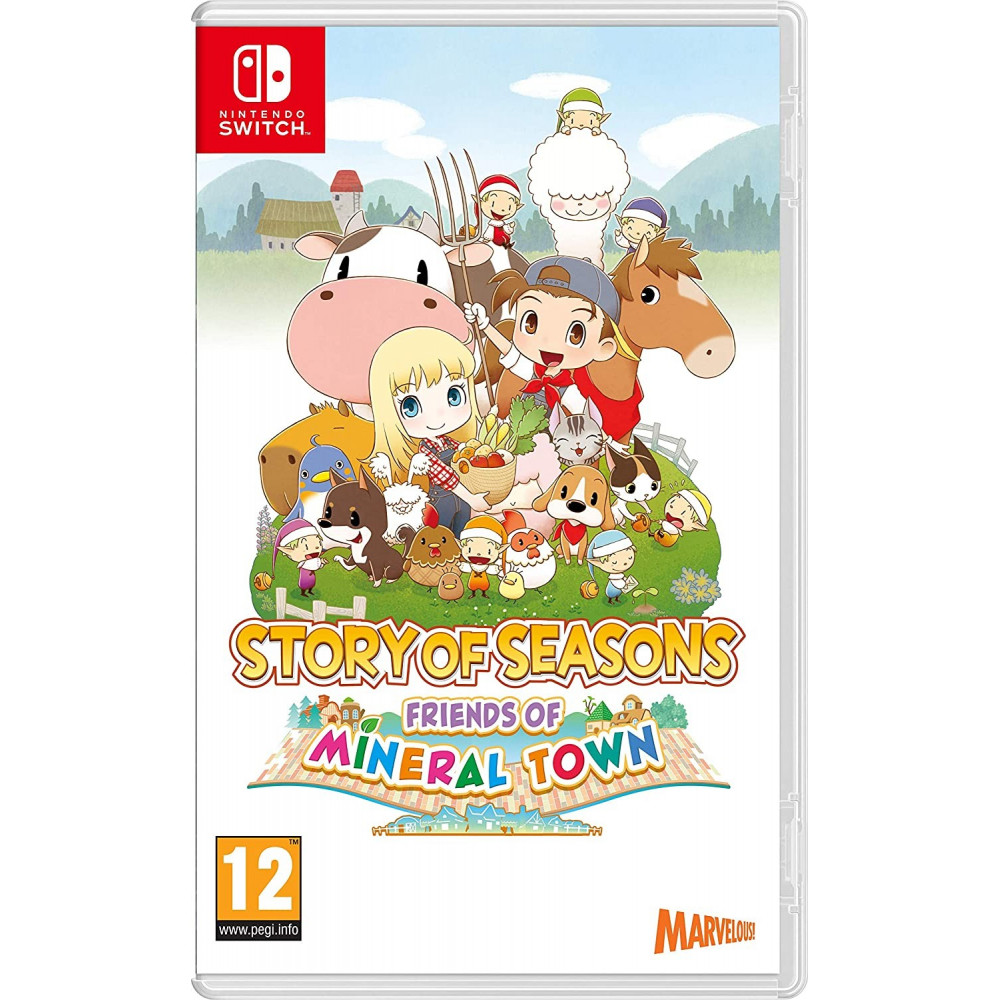 STORY OF SEASONS FRIENDS OF MINERAL TOWN SWITCH FR NEW