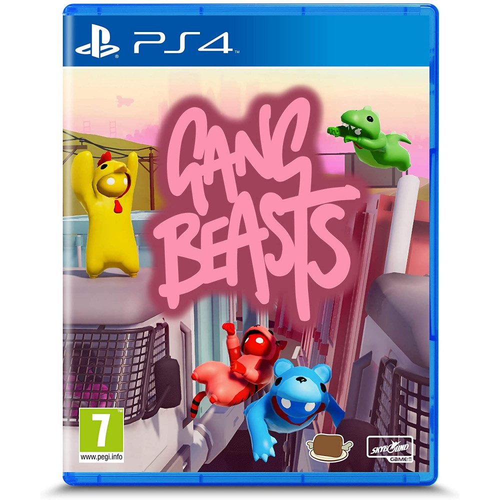 GANG BEASTS PS4 EURO FR NEW