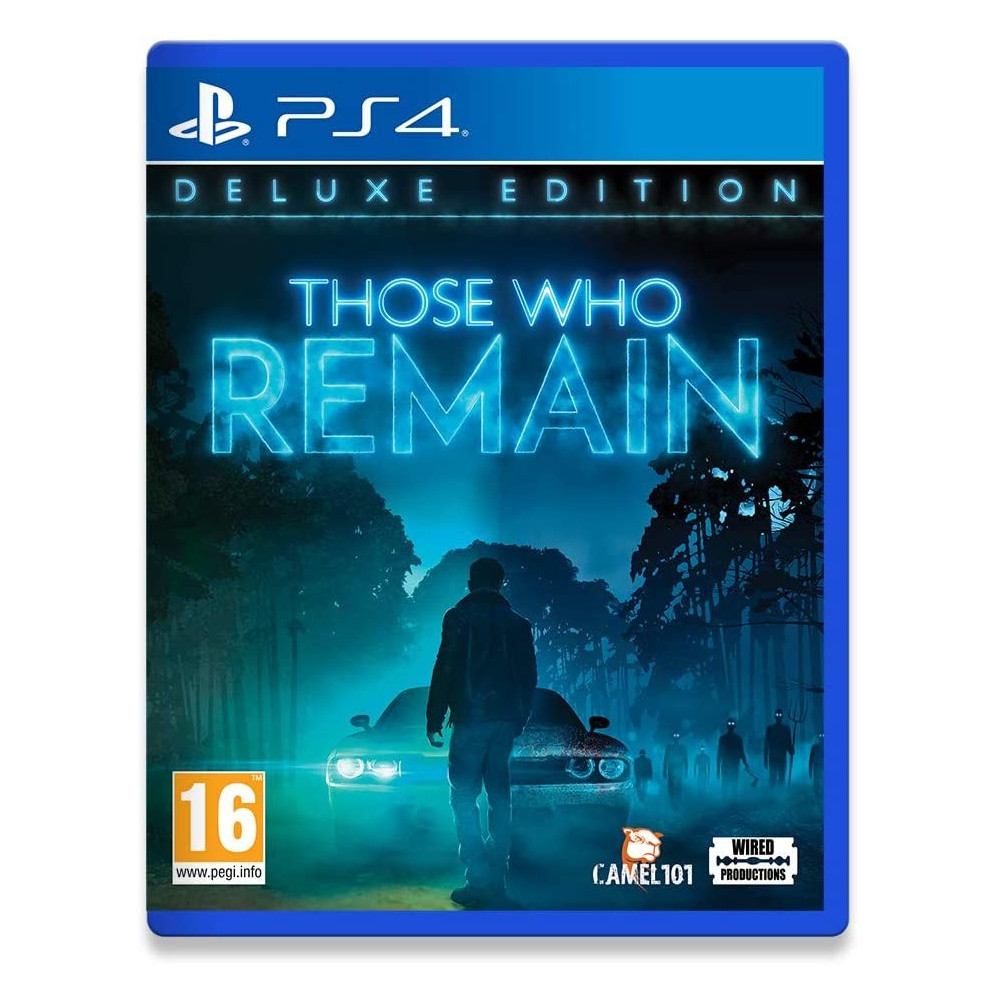 THOSE WHO REMAIN DELUXE EDITION PS4 FR NEW